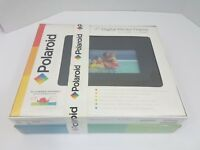"Polaroid Digital Photo Picture Frame 7"" w/ color LCD Screen in Gift Ready box"