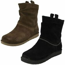 Clarks 100% Leather Ankle Boots for Women