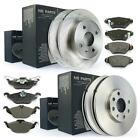 Bremsscheiben 4 Loch Bremsbeläge vorne 256mm hinten 240mm Opel Astra G ab Bj 98