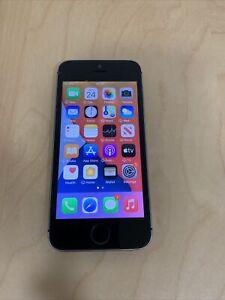 FAULTY APPLE IPHONE SE -GREY- 16GB - UNLOCKED - READ BELOW FOR FAULT