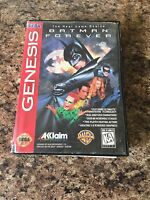 Batman Forever Sega Genesis Cib Game No Manual SB3
