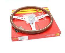 MOMO Steering Wheel Heritage California Wood 360mm Chrome Polished Brand New