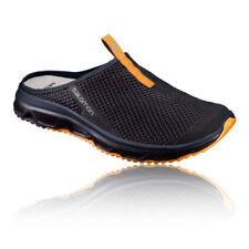 Scarpe da ginnastica neri marca Salomon per donna stringhe