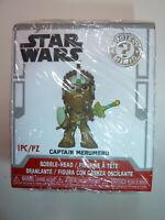 Star Wars Captain Merumeru Wookiee Funko Mystery Minis Bobblehead figure toy NEW