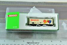 Arnold HN1003-9 SBB CFF Reefer MIGROS Rolling Stock  N Scale