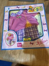 """Zapf Cretion Baby Chou Chou Clothes Fit 14"""" Girl Outfit Pink Purple New"""