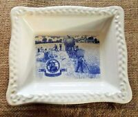Shredded Wheat Bowl-Ceramic Tray-Centenary Anniversary 1892-1992-Vintage-1980's