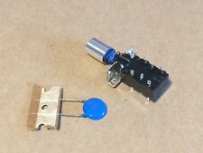 New Marantz Power Switch, Knob, & Snubber Cap 4240 4270 4300 4400 4415 4430 2220