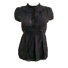 Marc Jacobs Black Silk Blouse US4