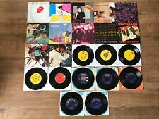 """THE ROLLING STONES JOBLOT 22 X 7"""" VINYL SINGLES : PRO CLEANED & PLAY GREAT!!"""