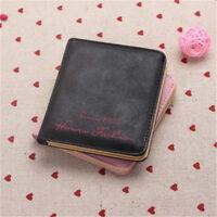 Cute Women's Leather Small Wallet Ladies Card Holder Purse Clutch Handbag Bags