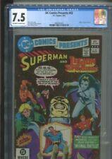 DC COMICS PRESENTS 43 SUPERMAN & THE LEGION OF SUPER-HEROES BOLLAND-C CGC 7.5
