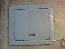 "Siemens 23""X 21.5"" OD Indoor Panel Breaker Box Cover, Used"
