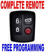NEW COMPLETE REMOTE FOR FORD FALCON BA BF WAGON SEDAN TRANSMITTER CLICK FOB 4BTS