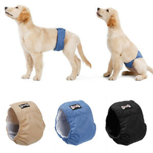 Washable Male Dog Belly Band Wrap Waterproof Pet Diaper Toilet Training Dog