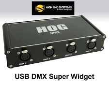 Hog USB DMX SUPER Widget 4 by High End Systems an ETC Co - 4 DMX Universes