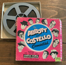 Castle Films Abbott & Costello Comedies 8 Or 16mm Riot On Ice Super 8 Comp B&W