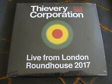 Slip CD Double: Thievery Corporation : Live From London Roundhouse 2017 : Sealed