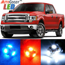 11 x Premium Xenon White LED Lights Interior Package Upgrade for Ford F150