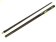 Carbonio Grafite 2 pezzi Full-Size stecca biliardo Snooker Cue with 9.5mm punte