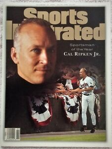 Sports Illustrated 12/18/95 CAL RIPKEN, JR. Sportsman of the Year (NO LABEL)