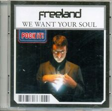 FREELAND - We want your soul 2TR Pock-it 3-inch CDS 2003 / VERY RARE!