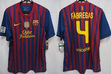 2011-2012 FC Barcelona Barca FCB Jersey Shirt Camiseta Cesc Fabregas #4 XL BNWT