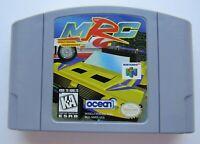 *GOOD* MRC Multi-Racing Championship Nintendo 64 N64 Video Game Retro Super Fun!