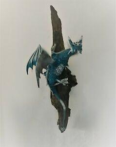 Large Wall Hanging Dragon - Blue