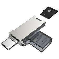 USB C Card Reader Micro SD/TF Type C Multi Memory Card Reader for MacBook Phone