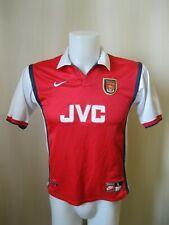 BOYS Arsenal London 1998/1999 Home Size L Nike shirt jersey soccer football