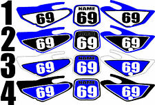 Number Plate Graphic for 2000-2007 Yamaha TTR125 TTR 125 Side Panels Decal