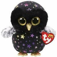 OFFICIAL TY BEANIE BABIES BOOS HYDE OWL HALLOWEEN PLUSH SOFT TOY WITH TAGS