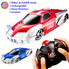 Wall Climbing Remote Control Car, Rc Car Toy for Kids Rotating Stunt Racing Gift