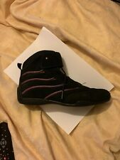 Motorcycle Boots Black Size 6 Ladies