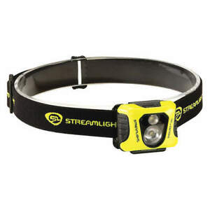Streamlight 61421 Black/Yellow Enduro Pro White/Red/Green LED Headlamp