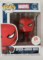 Funko POP!  Marvel Walgreens Exclusive - Spider-Armor MKIII #670 NIB - Spiderman