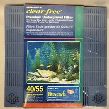 Penn Plax Premium Under Gravel Filter System -55 Gallon  - Fast Free Shipping
