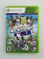 Nicktoons MLB - Xbox 360 Game - Complete & Tested