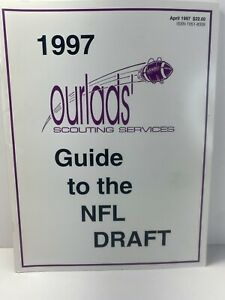 1997 Ourlad's Guide To NFL Draft Vintage Football Book