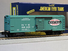 LIONEL AMERICAN FLYER NEW YORK CENTRAL S GAUGE BOX CAR 168245 6-47961 NEW