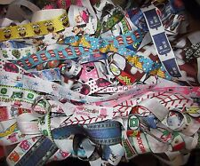 GROSGRAIN PRINTED GROSGRAIN RIBBON LOT FOR HAIR BOWS *FREE SHIPPING*