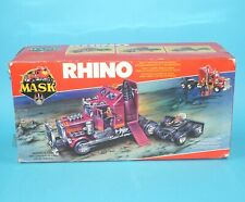 M.A.S.K RHINO TRACTOR RIG 100% COMPLETE BOXED EURO BOX MIB KENNER HTF