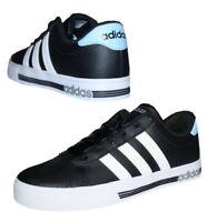 Adidas Neo Daily Team Damen Herren Sneaker Freizeitschuhe Schuhe schwarz Gr. 40
