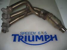 Triumph Daytona 675 R Oval abajo Pipa Cabeceras 2013 14 15