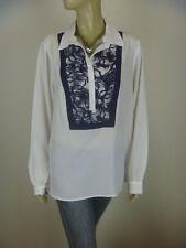 TRENT NATHAN Long Sleeve Shirt sz 14 - BUY Any 5 Items = Free Post