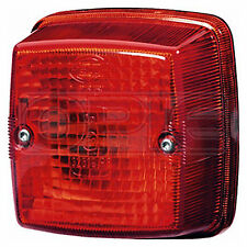 Tail Light: Tail Lamp - Red with Red Lens | HELLA 2SA 003 014-051