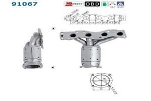 Catalizador Suzuki Swift 1.3i 1.5i 92/109 CV M13A M15 4/05> + KIT