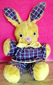 Vintage Perki BunniGund Rubber Nosed Rabbit - A Happy Easter Basket Character!