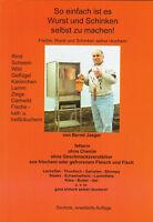 Räucherbuch Broschüre Wurst und Schinken selbst machen, Grill, BBQ